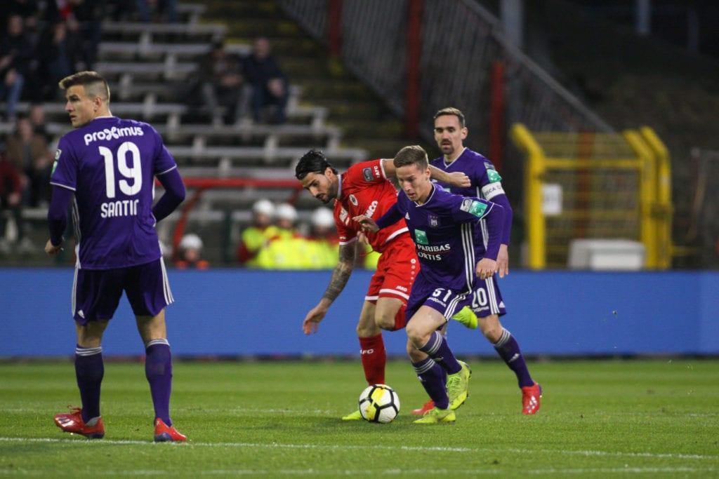 Yari Verschaeren blijft bij Anderlecht