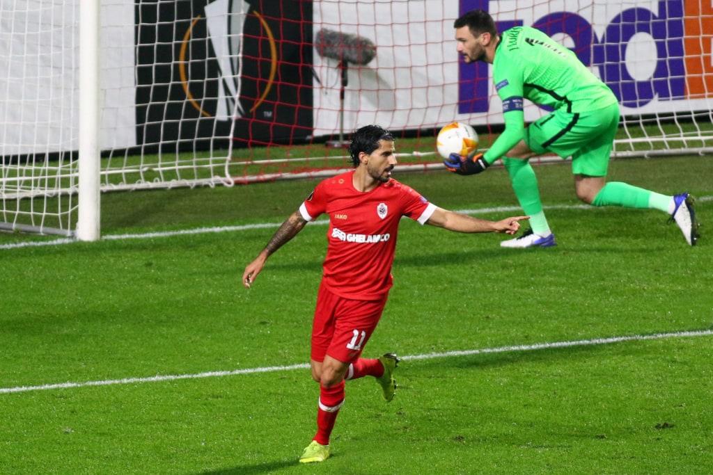 Refaelov scoort tegen Tottenham in de Europa League