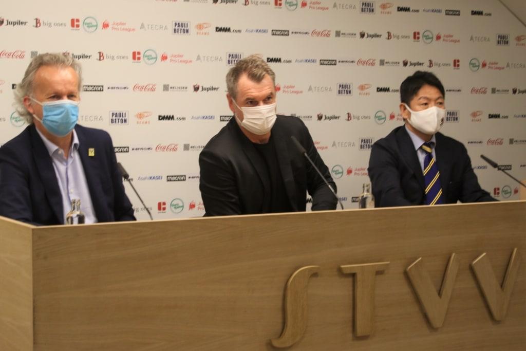 David Meekers, Bernd Hollerbach, Takayuki Tateishi