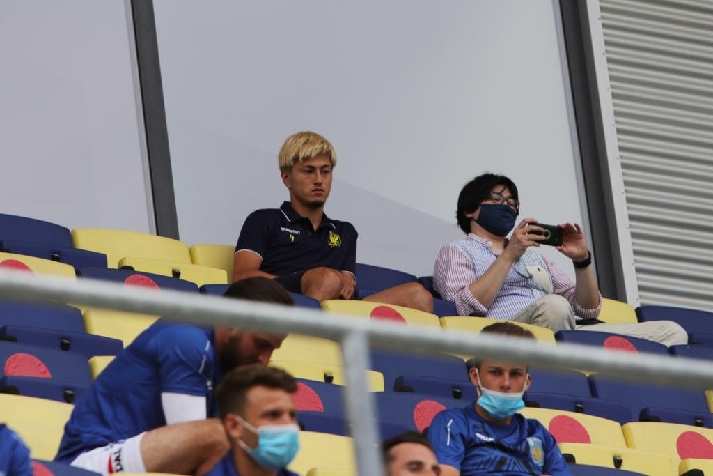 Yuma Suzuki nog niet weg bij STVV
